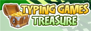 Select to access Typing Games Treasure in a new window