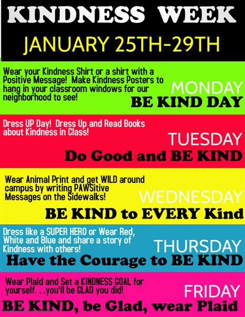Celebrate Kindness Week!!