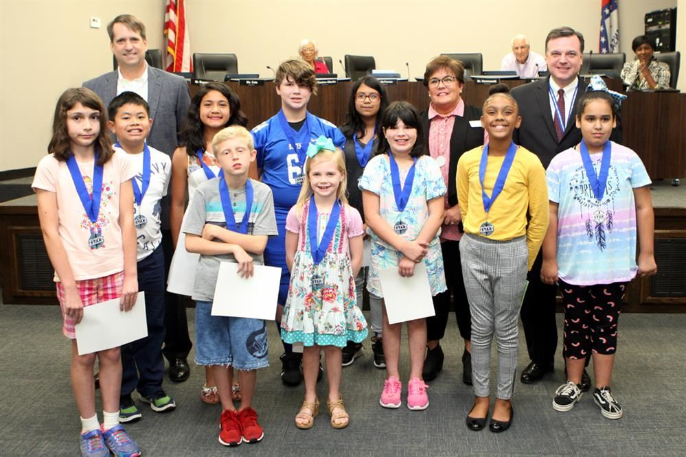 September Board Meeting Recognizes Many