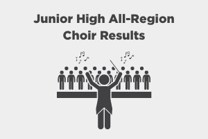 FSPS Junior High Choir Results