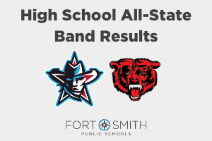 Northside and Southside All-State Band Results
