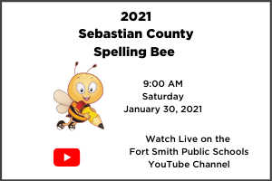 2021 Sebastian County Spelling Bee on January 30, 2021