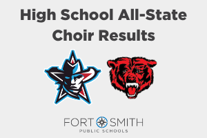 Northside and Southside All-State Choir Results