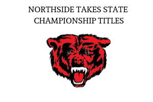 Northside High School Shines at State Championship competitions, Grizzly logo