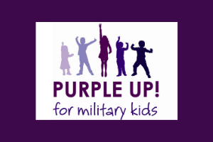 Purple Up for Military Kids!