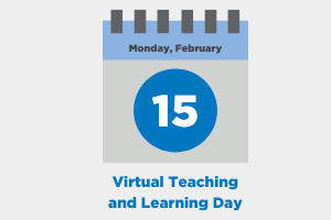 Planned Virtual Learning Day on February 15, 2021