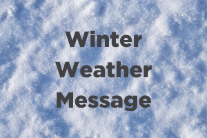 Winter Weather Message